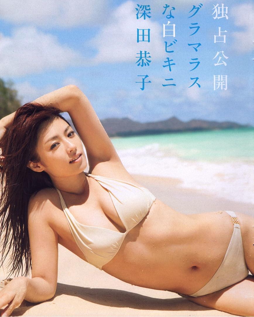 深田恭子のデビューしたて!?過去のセクシーな水着グラビア画像まとめ